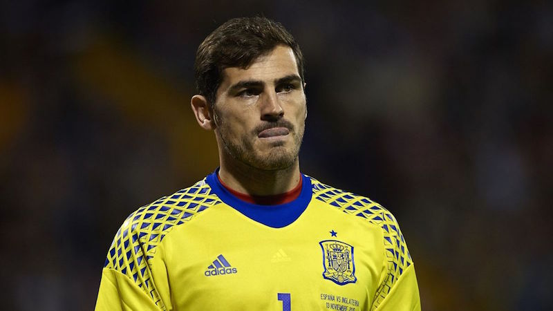 Casillas hints at national retirement