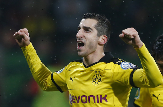 BVB agree £26.3m fee for Mkhitaryan
