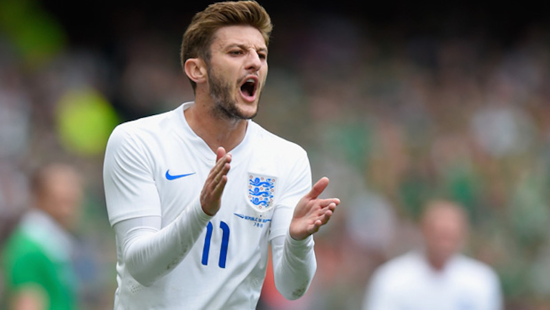 Lallana relishing Bale challenge
