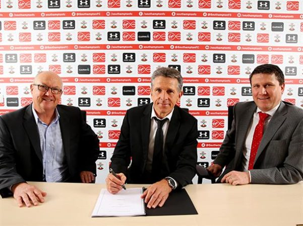 Southampton hand reins to Puel