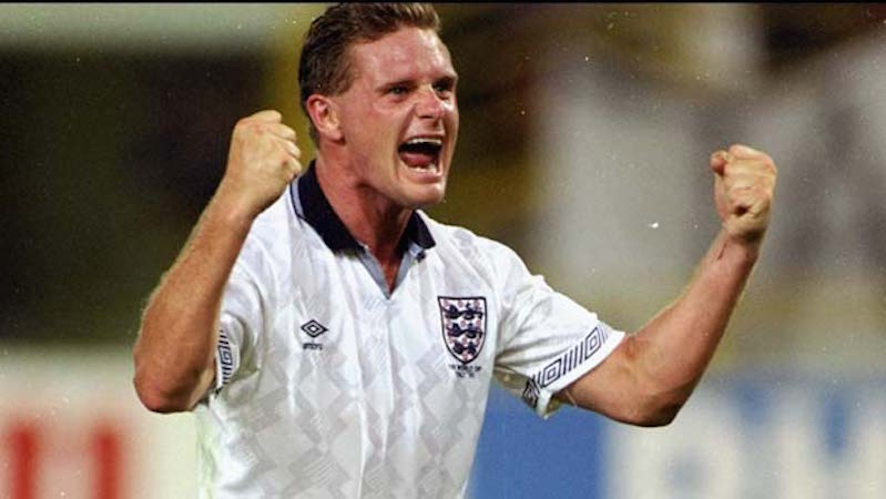 'Gazza' on par or better than CR7, Messi