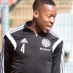 Orlando Pirates defender Happy Jele