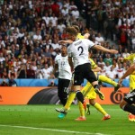 German defence sets up win