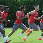 Arsenal take on Lens in pre-season