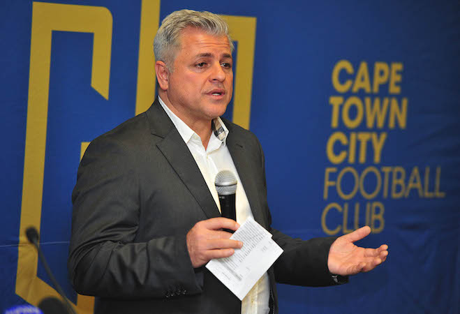 John Comitis owner of Cape Town City