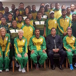 Jordaan wishes Banyana and SA U23 well