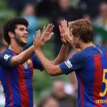 Barca breeze past Celtic