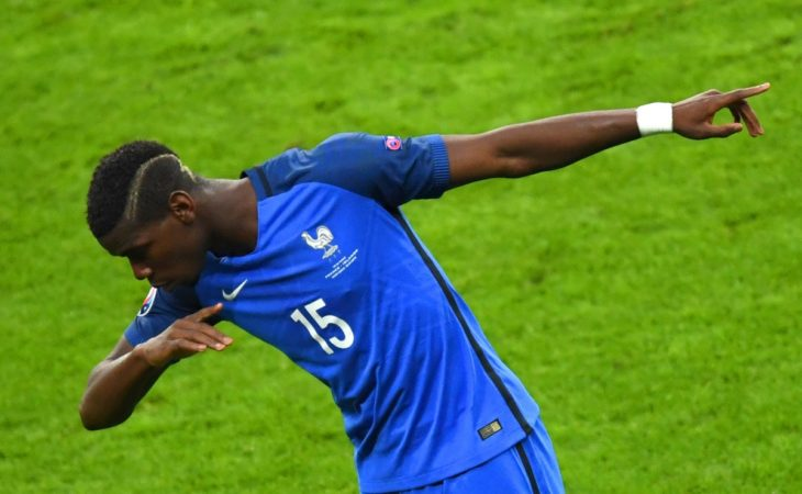 Pogba shines as France smash Iceland