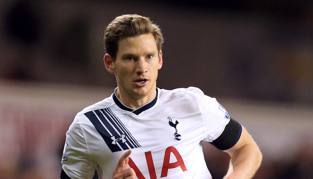 Vertonghen closing in on return