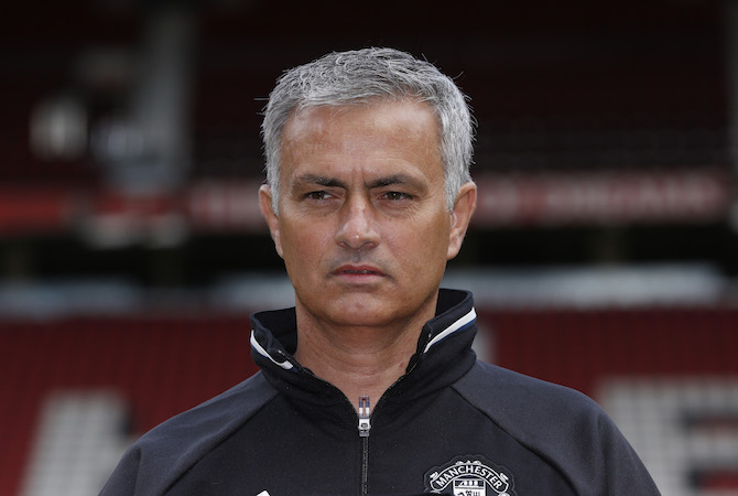 I'm where I want to be - Mourinho