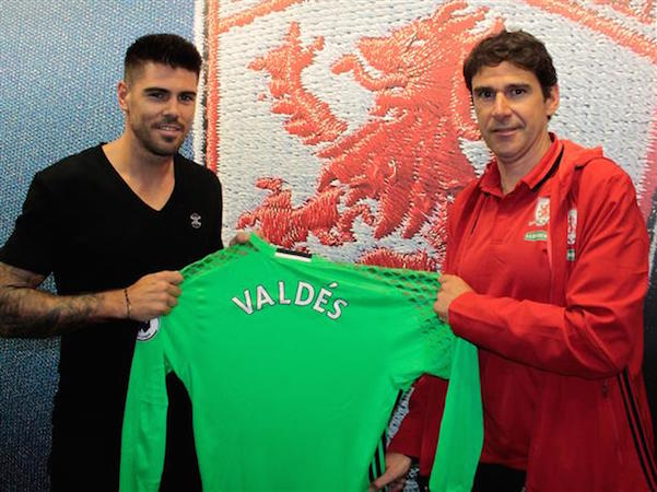 Boro capture Valdes on a free transfer