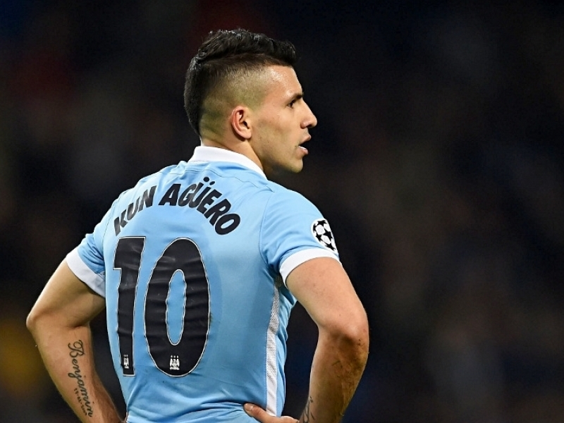 Guardiola praises Aguero's resolve