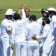 South Africa celebrate wicket
