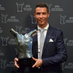 Ronaldo named best player in Europe