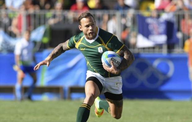 Francois Hougaard at the Olympics