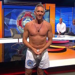 Lineker presents MOTD in his underwear