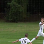 Red Devils' Gribbin nets wonder goal