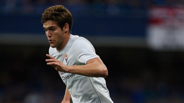 Chelsea left back Marcos Alonso