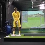Neymar is a shocking golfer