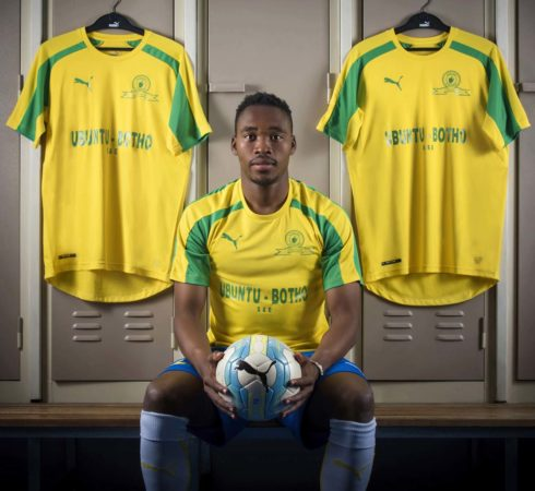 Sundowns show off new Puma kits