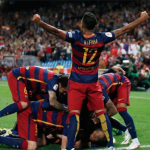 Barca bag Super Cup advantage
