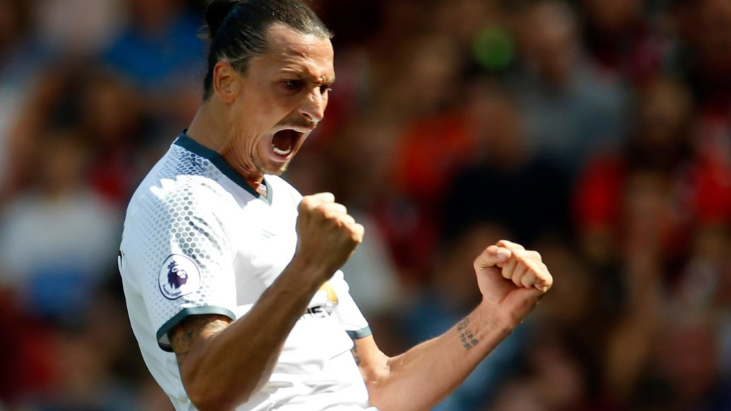Ibra on target as United win