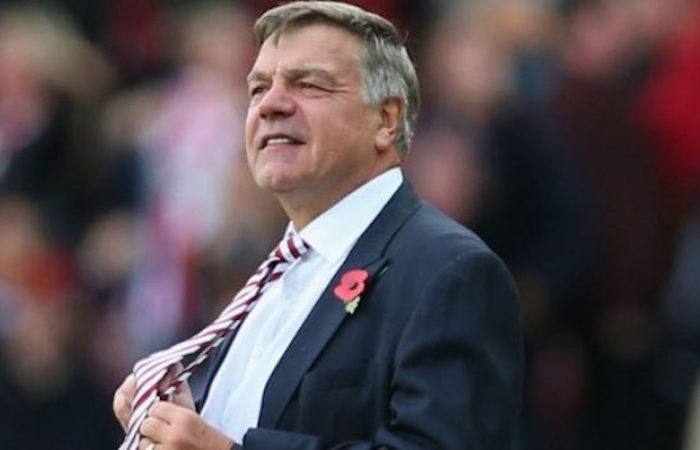 Big Sam faces England sack