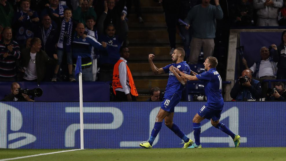Leicester City sink Porto