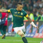 Jantjies, Hougie train with Boks