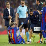 Messi injured as Atletico hold Barca