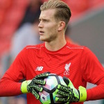 Liverpool goalkeeper Loris Karius