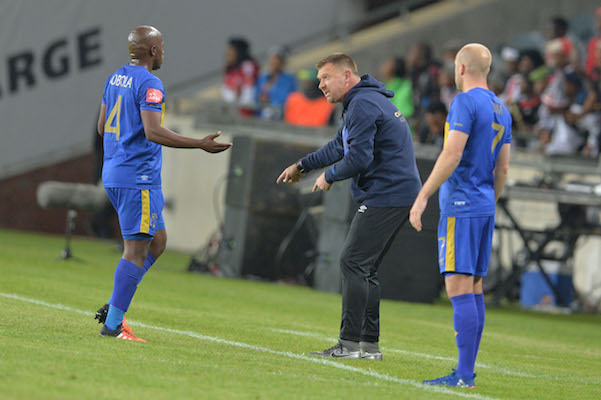 Vincent Kobola and Eric Tinkler