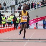 Mokoka races to third victory in Shanghai Marathon