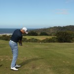 Van den Berg in the links hunt