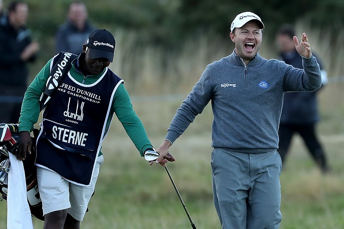 Hatton reins supreme, Sterne second at St. Andrews