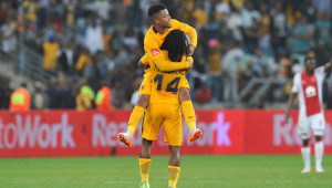 George Lebese of Kaizer Chiefs