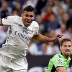 Casemiro eager for Real comeback