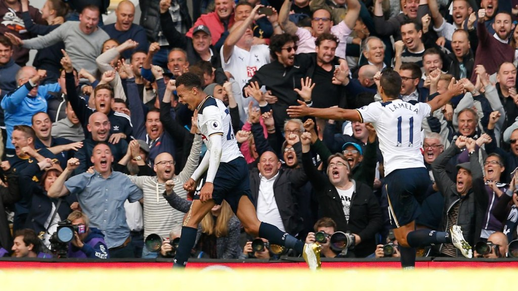 Dele Alli stars in Spurs win