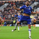Courtois praises Costa's scoring ability
