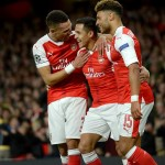 Arsenal hit Ludogorets for six