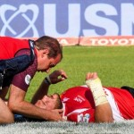 Successful neck surgery for Lions prop