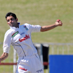 Spinner Maharaj stakes his claim for a Test spot