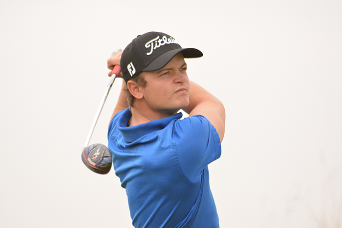 Conradie on track for second IGT Tour title