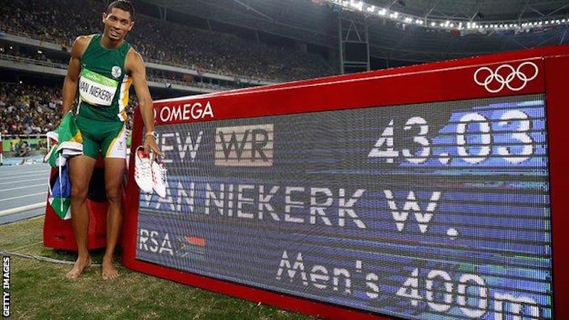 And it's another award for SA's Van Niekerk!