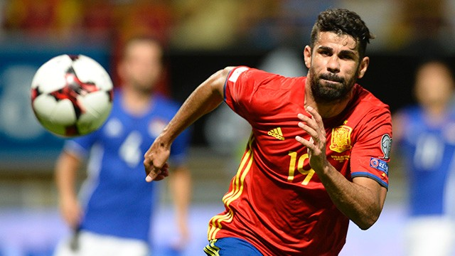 Costa withdrawn from Spain squad