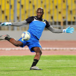 Denis Onyango during Mamelodi Sundowns' training session