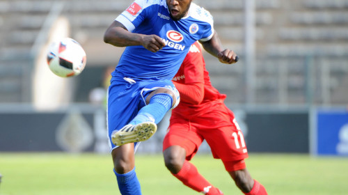 SuperSport United defender Morgan Gould