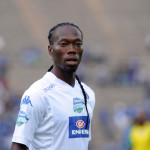 Reneilwe Letsholonyane of SuperSport United