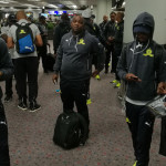 Sundowns arrive in Hong Kong
