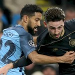 Clichy delighted by City's UCL progression